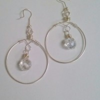 Winter Ice Dangle Earrings